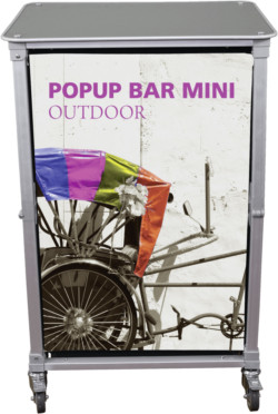 mini outdoor bar cart