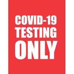 COVID-19 Testing Only