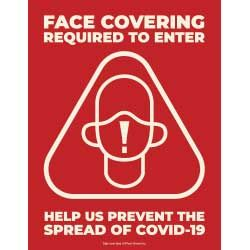 Face Covering Required to Enter