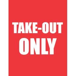 Take-Out Only